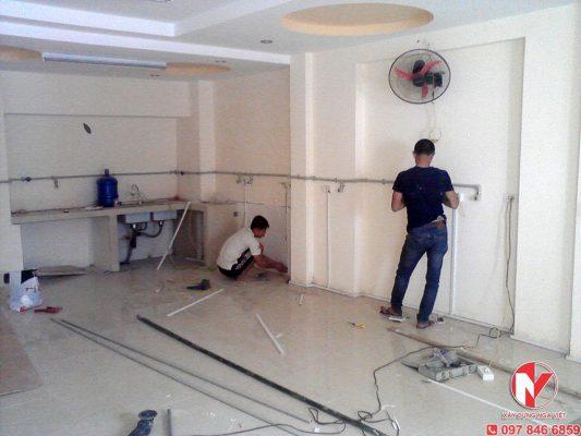 Lặp đặt hệ thống điện nước tại nhà