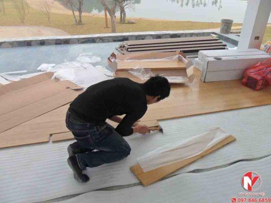 Sửa chữa sàn gỗ tại nhà nhanh chóng giá rẻ