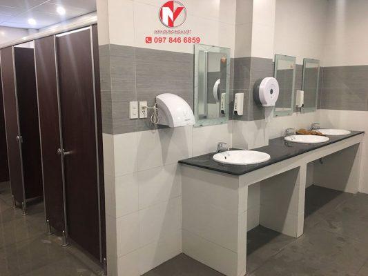 Báo giá sửa chữa nhà vệ sinh tại tphcm