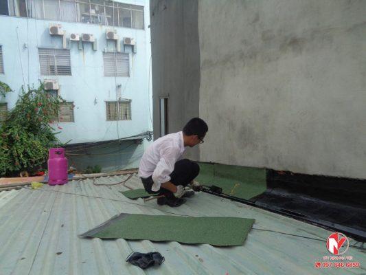 Xử lý chống thấm dột khi sửa chữa nhà