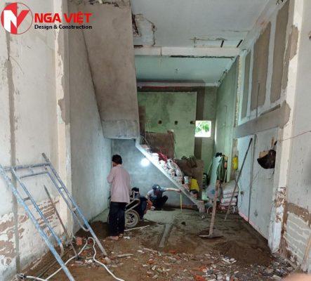 Sửa chữa nhà phố 2 tầng đẹp