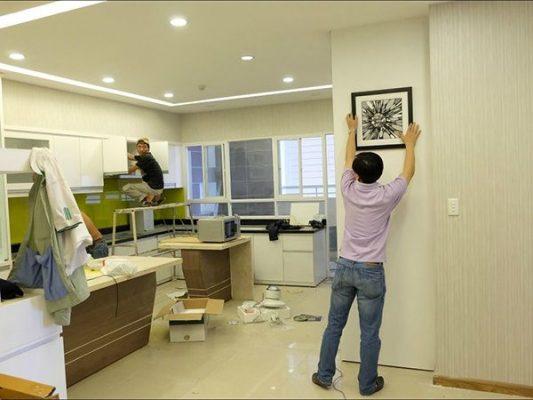 Thi công sửa nhà tại huyện Củ Chi