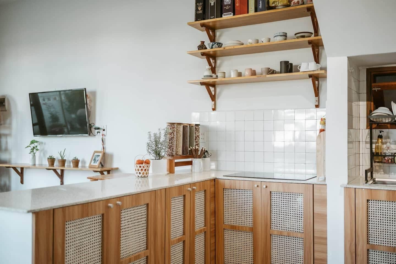 Cải tạo phòng bếp nhà 2 tầng tại Hội An