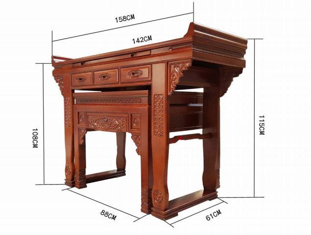 Kích thước bàn thờ là bao nhiêu theo phong thủy