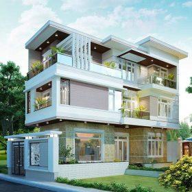Tư vấn xây nhà 2 tỷ đẹp hiện đại
