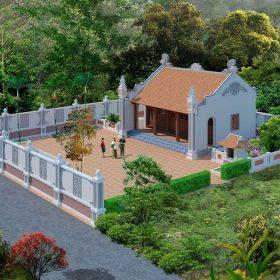 Tư vấn xây nhà từ đường đẹp tiết kiệm chi phí