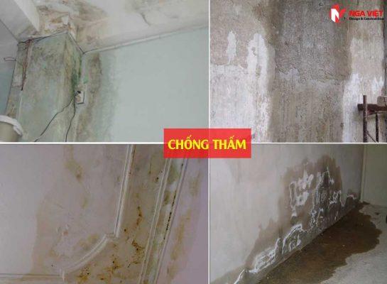 Dịch vụ chống thấm dột uy tín tại quận Tân Phú