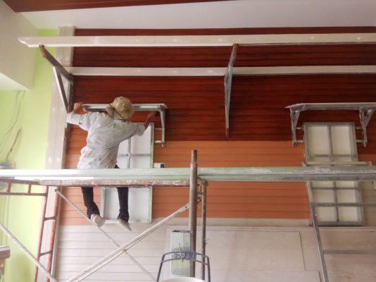 thi công sơn giả gỗ chuyên nghiệp